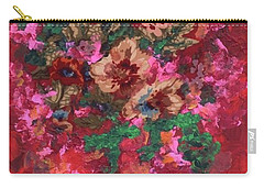 Carry-all Pouch featuring the painting My Sister's Garden I by Alys Caviness-Gober