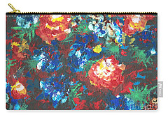 Carry-all Pouch featuring the painting My Sister's Garden II by Alys Caviness-Gober