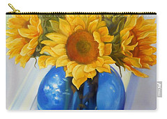 My Sunflowers Carry-all Pouch by Marlene Book