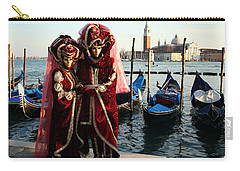 Carry-all Pouch featuring the photograph Nadine And Daniel Across San Giorgio by Donna Corless