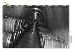 Napa Wine Barrels In Cellar Carry-all Pouch