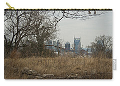 Nashville Skyline From The Fort Carry-all Pouch
