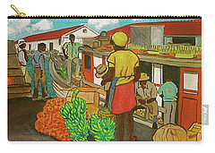 Nassau Fruit Boat Carry-all Pouch by Frank Hunter