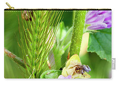 Carry-all Pouch featuring the photograph Natural Bouquet by Pedro Cardona