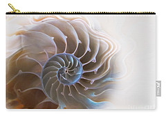 Natural Spiral Carry-all Pouch by Danuta Bennett