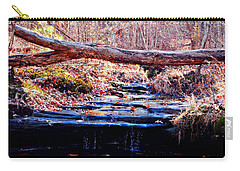 Carry-all Pouch featuring the photograph Natural Spring Beauty  by Peggy Franz