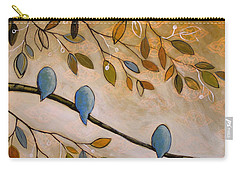 Nature Birds Painting...peaceful Garden Carry-all Pouch