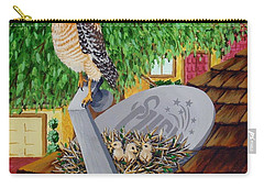 Nature Channel- Red Shouldered Hawk Carry-all Pouch