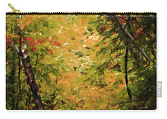 Carry-all Pouch featuring the photograph Nature In Oil  by Deniece Platt