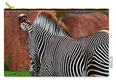 Nature's Barcode Carry-all Pouch by Davandra Cribbie