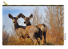 Carry-all Pouch featuring the photograph Nature's Gentle Beauties by Lynn Bauer