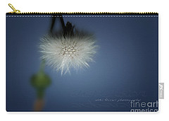 Carry-all Pouch featuring the photograph Nature's Street Lighting by Vicki Ferrari