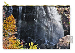 Nc Waterfalls Carry-all Pouch by Ronald Lutz