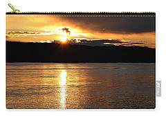 Carry-all Pouch featuring the photograph Nebraska Sunset by Elizabeth Winter