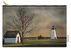 Ned's Point Light Carry-all Pouch by Robin-Lee Vieira