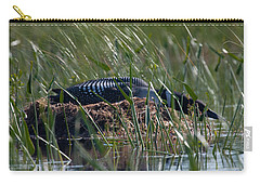 Nesting Loon Carry-all Pouch by Brent L Ander