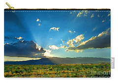 New Mexico Desert Carry-all Pouch by Betty LaRue