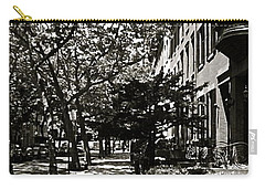 Carry-all Pouch featuring the photograph New York Sidewalk by Eric Tressler