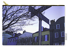 Carry-all Pouch featuring the photograph Night In Savannah by Andrea Anderegg