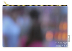Carry-all Pouch featuring the photograph Imagine Nightfall At The Funfair by Andy Prendy
