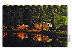 Nighttime In The Campground Carry-all Pouch