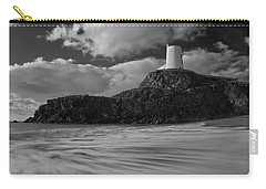 Niwbwrch Lighthouse Carry-all Pouch by Beverly Cash