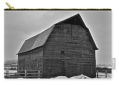 Carry-all Pouch featuring the photograph Noble Barn by Eric Tressler