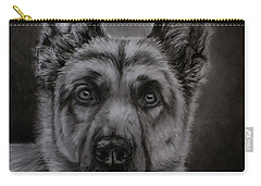 Noble - German Shepherd Dog  Carry-all Pouch