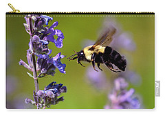 Non Stop Flight To Pollination Carry-all Pouch by Sue Stefanowicz