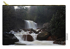 Carry-all Pouch featuring the photograph North Forks Waterfalls by Dan Friend