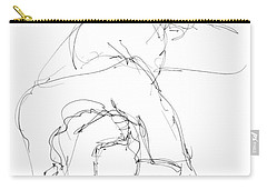 Nude Male Drawings 7 Carry-all Pouch