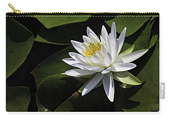 Nymphaea Marliacea 'albida' Carry-all Pouch