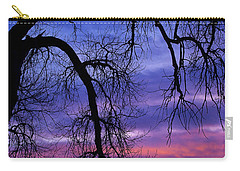 Carry-all Pouch featuring the photograph Obeisance by Jim Garrison