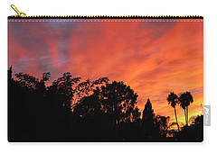 October Sunset 10 Carry-all Pouch