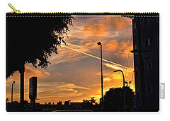 October Sunset 6 Carry-all Pouch