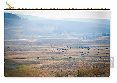 Oh Home On The Range Carry-all Pouch by Cheryl Baxter