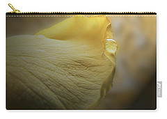 Carry-all Pouch featuring the photograph Oh So Soft Is The Kiss Of Dew by Debbie Portwood