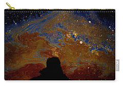 Oil On Pavement Visionary Carry-all Pouch by Todd Breitling