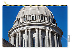 Oklahoma State Capitol Dome Carry-all Pouch by Doug Long