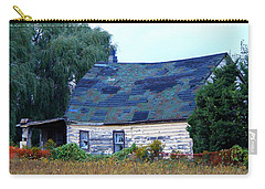 Carry-all Pouch featuring the photograph Old Barn by Davandra Cribbie