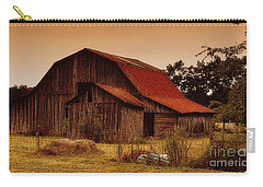 Carry-all Pouch featuring the photograph Old Barn by Lydia Holly