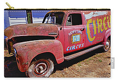 Old Circus Truck Carry-all Pouch