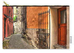 Old Colorful Rustic Alley Carry-all Pouch