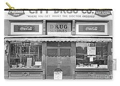 Old Drug Store Circa 1930 Carry-all Pouch