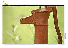 Old Fashioned Water Pump Carry-all Pouch