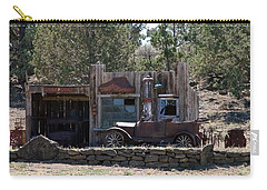 Old Filling Station Carry-all Pouch by Athena Mckinzie