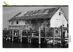 Old Fishing Wharf Carry-all Pouch by Karen Harrison