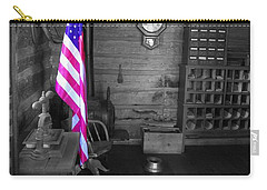 Carry-all Pouch featuring the photograph Old Glory by Deniece Platt