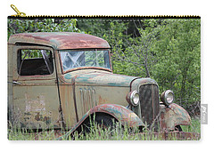 Abandoned Truck In Field Carry-all Pouch by Athena Mckinzie
