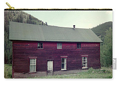 Carry-all Pouch featuring the photograph Old Hotel by Bonfire Photography